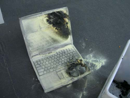 One Hot Laptop